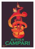 Bitter Campari Aperitif - Clown Wrapped in Orange Peel