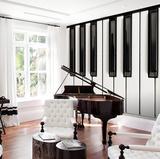 Piano Keys Wall Mural Papier peint