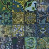 Cobalt Mosaic I