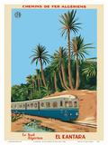 El Kantara - Southern Algeria - Chemins de Fer Algeriens  Algerian Railways