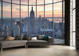 New York Window Wall Mural