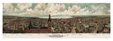 Panoramic View of Milwaukee  Wisconsin  1898