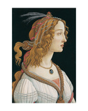 Idealized Portrait of a Lady (Portrait of Simonetta Vespucci as Nymph)  1480