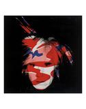 Self-Portrait  1986 (red  white and blue camo)