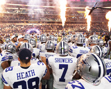 Dallaas Cowboys Take the Field