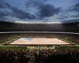 American Flag at Levi's Stadium