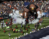 Chicago Bears Take the Field