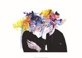 Intimacy on Display Giclée par Agnes Cecile