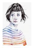 Amanda Reproduction d'art par Agnes Cecile