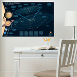 National Geographic Solar System Wall Decal