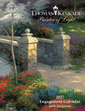 Thomas Kinkade Painter of Light with Scripture - 2017 Planner