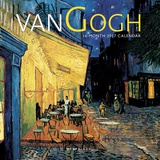 van Gogh - 2017 Mini Calendar