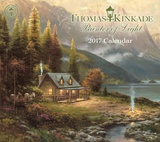 Thomas Kinkade Painter of Light Deluxe - 2017 Calendar