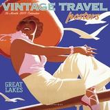 Vintage Travel Posters - 2017 Calendar