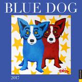 Blue Dog - 2017 Calendar