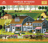 Charles Wysocki - Americana - 2017 Calendar