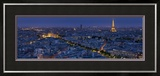 A Panoramic View of the City of Paris  France