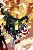 Captain America: Sam Wilson No4 Cover  Featuring Viper (Jordan Stryke) and Falcon Cap
