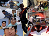 Spider-Man No1 Panel  Featuring Miles Morales   Ultimate Spider-Man Morales and Ganke Lee