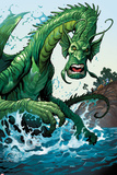 Totally Awesome Hulk No2 Panel  Featuring Fin Fang Foom