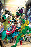 Captain America: Sam Wilson No6 Cover  Featuring Puff Adder  Falcon (Joaquin Torres) and More