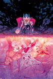 Mighty Thor No3 Cover  Featuring Thor (Female)  Minotaur  Enchantress  Malekith and More