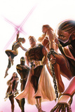 Squadron Supreme No1 Cover  Featuring Doctor Spectrum  Power Princess  Nighthawk and More