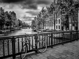 Amsterdam Gentlemen's Canal Reproduction d'art par Melanie Viola
