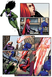 A-Force No2 Panel  Featuring She-Hulk  Medusa  Singularity and Antimatter