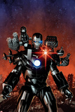 Invincible Iron Man No6 Cover  Featuring War Machine