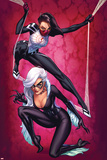 Silk No3 Cover  Featuring Silk and Black Cat