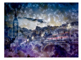 City-Art London Westminster Bridge At Sunset