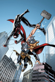 Spider-Man No1 Cover  Featuring Ultimate Spider-Man Morales