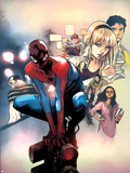 Spidey No2 Cover  Featuring Flint Marko  Spider-Man  Peter Parker and Gwen Stacy