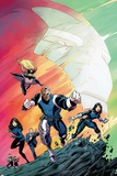 Agents of SHIELD No1 Cover  Featuring Man  Mockingbird  Deathlok  Melinda May and More