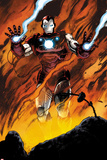 Agents of SHIELD No1 Panel  Featuring Iron Man