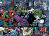 Spidey No3 Panel  Featuring Spider-Man and Lizard
