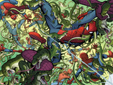 Spidey No3 Panel  Featuring Spider-Man