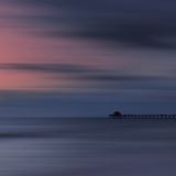 Scenery Art Florida Sunset Naples Pier