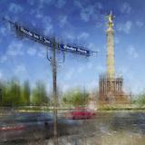 City Art Berlin Victory Column Reproduction d'art par Melanie Viola