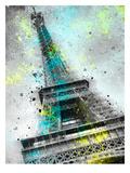 City Art Paris Eiffel Tower III Reproduction d'art par Melanie Viola