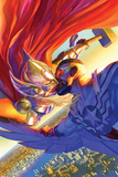 All-New  All-Different Avengers No4 Cover  Featuring Thor (Female) and Falcon Cap