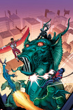 Contest of Champions No4 Cover  Featuring Falcon  Black Panther  Fin Fang Foom  Torpedo and More