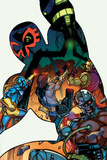 Contest of Champions No4 Cover  Featuring Spider-Man 2099  Starhawk  Killraven and More