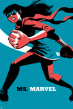 Ms Marvel No4 Cover  Featuring Ms Marvel (Kamala Khan)
