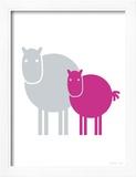 Fuschia Baby Horse