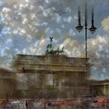 City Art Berlin Brandenburg Gate II Reproduction d'art par Melanie Viola