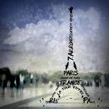 Digital-Art Paris Eiffel Tower No.1 Reproduction d'art par Melanie Viola