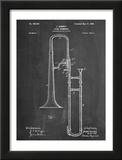 Slide Trombone Instrument Patent