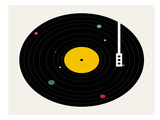 Music Everywhere Main Reproduction d'art par Florent Bodart
